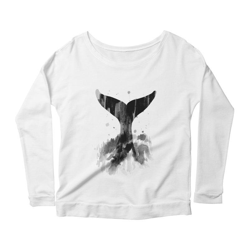 Splash Women's Scoop Neck Longsleeve T-Shirt by yeohgh