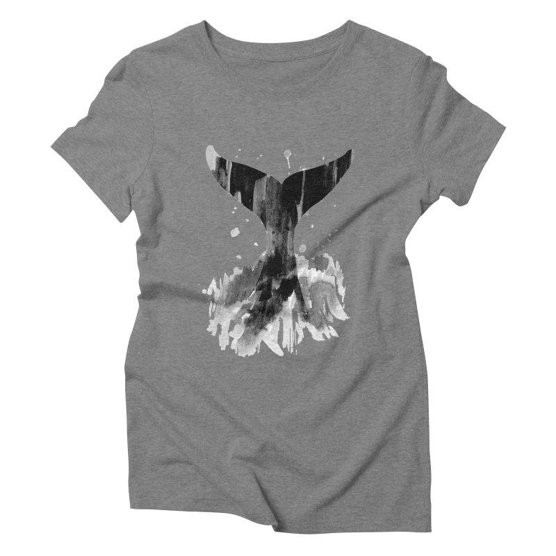 Splash Women's Triblend T-Shirt by yeohgh
