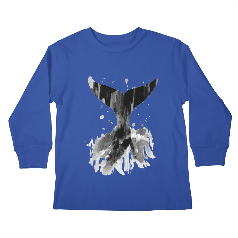 Splash Kids Longsleeve T-Shirt by yeohgh