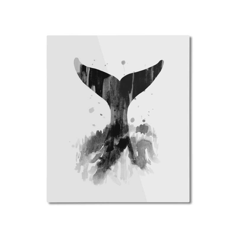 Splash Home Mounted Aluminum Print by yeohgh