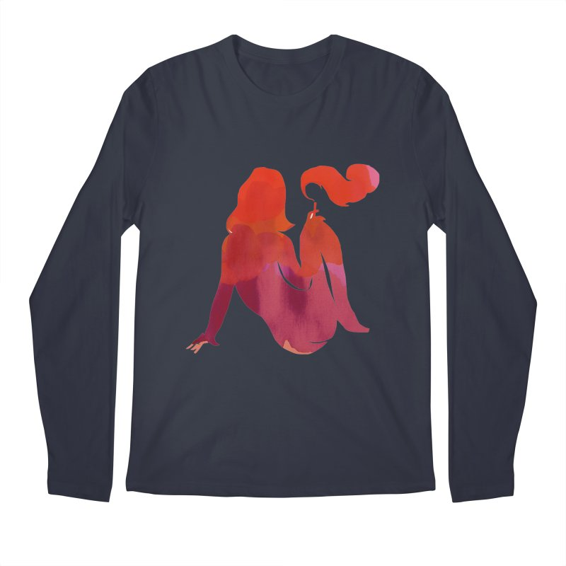 Sensual Men's Regular Longsleeve T-Shirt by yeohgh