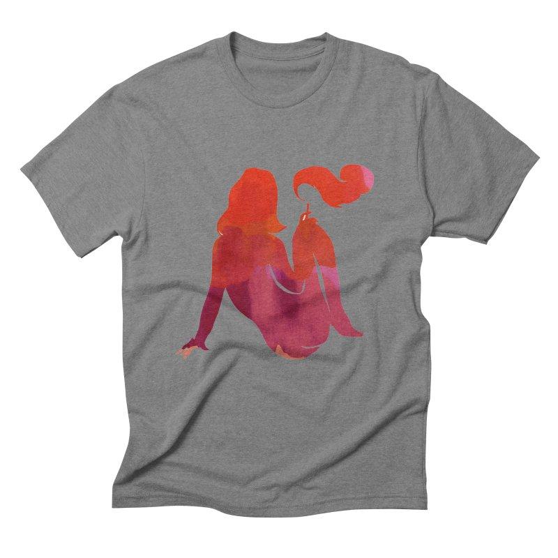 Sensual Men's Triblend T-Shirt by yeohgh