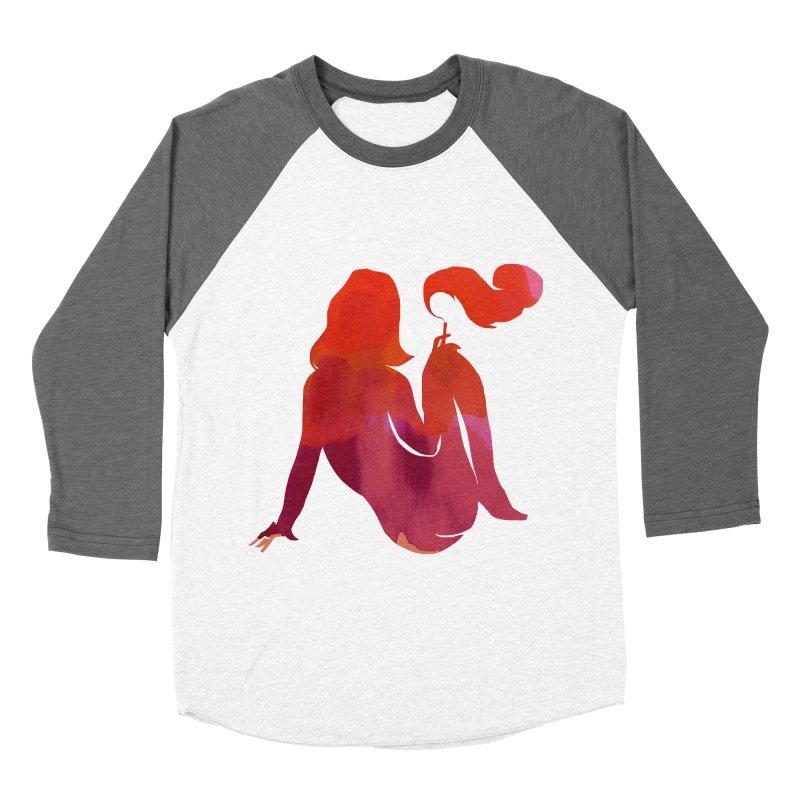 Sensual Women's Baseball Triblend T-Shirt by yeohgh