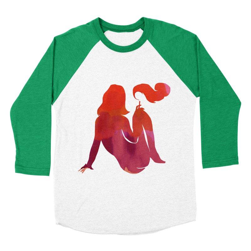 Sensual Women's Baseball Triblend Longsleeve T-Shirt by yeohgh