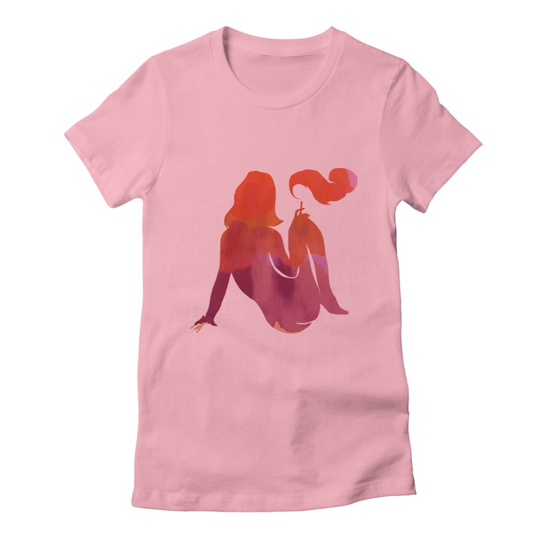 Sensual Women's Fitted T-Shirt by yeohgh
