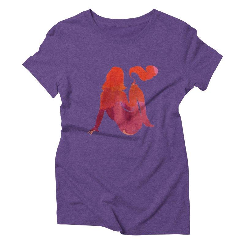 Sensual Women's Triblend T-Shirt by yeohgh