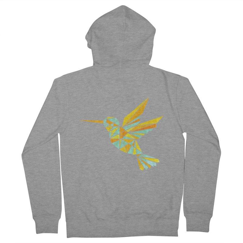 Hummingbird Men's French Terry Zip-Up Hoody by yeohgh