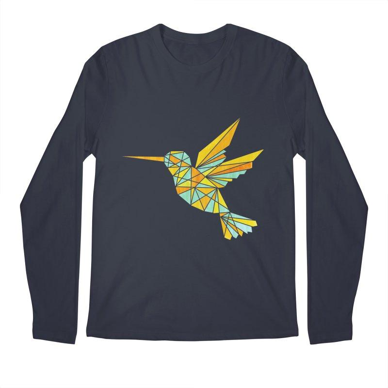 Hummingbird Men's Longsleeve T-Shirt by yeohgh