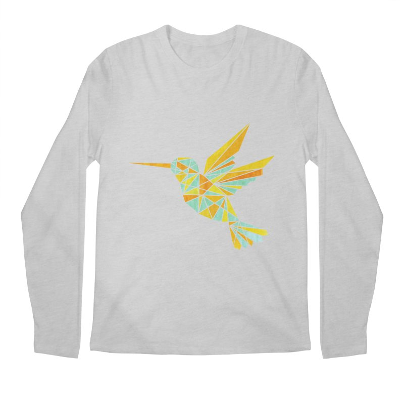 Hummingbird Men's Regular Longsleeve T-Shirt by yeohgh