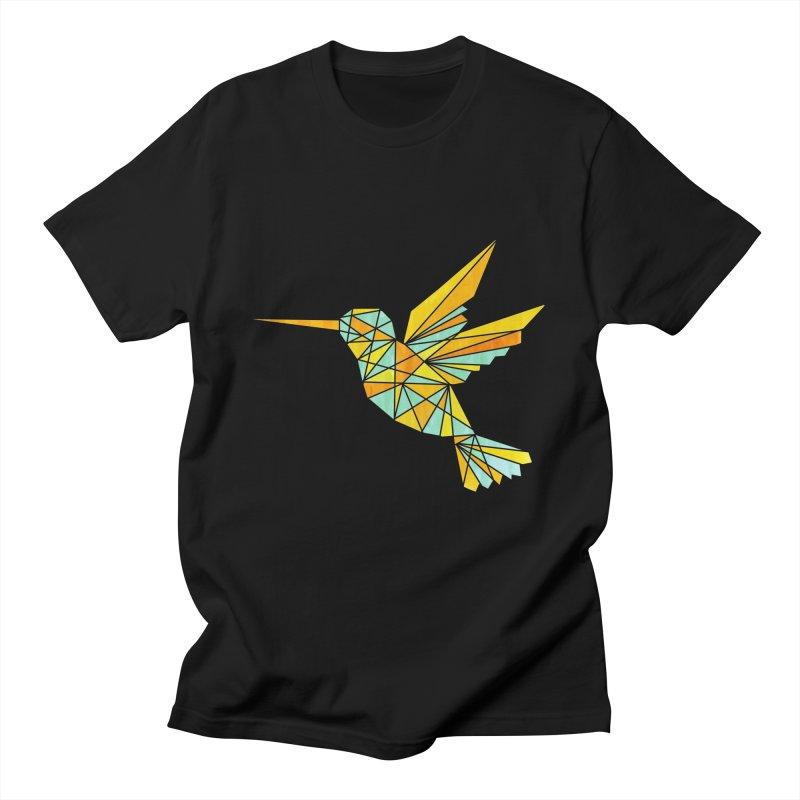 Hummingbird Men's Regular T-Shirt by yeohgh