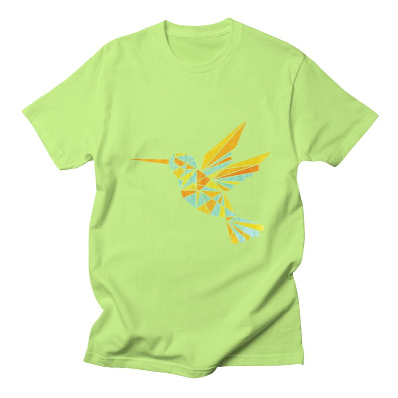 Hummingbird Men's Regular T-Shirt by yeohgh