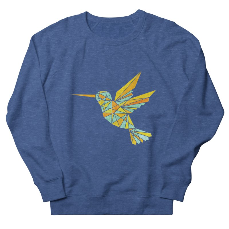 Hummingbird Men's French Terry Sweatshirt by yeohgh