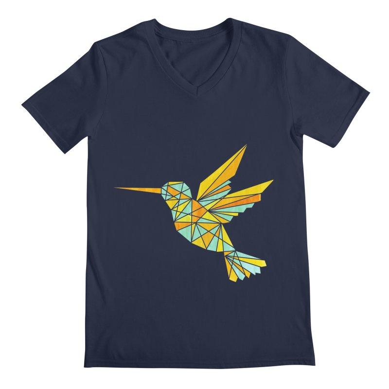 Hummingbird Men's V-Neck by yeohgh
