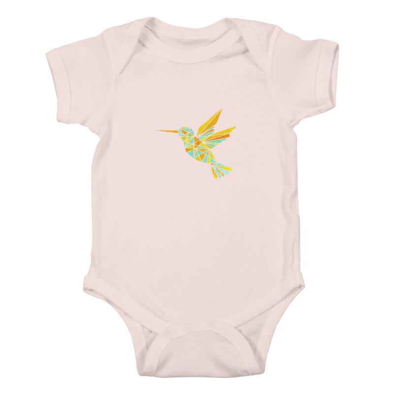 Hummingbird Kids Baby Bodysuit by yeohgh