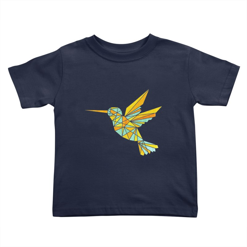 Hummingbird Kids Toddler T-Shirt by yeohgh