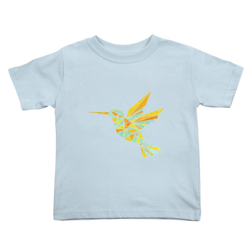 Hummingbird Kids Toddler T-Shirt by yeohgh