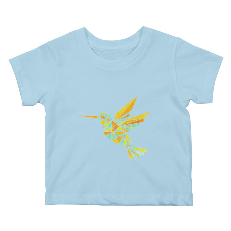 Hummingbird Kids Baby T-Shirt by yeohgh