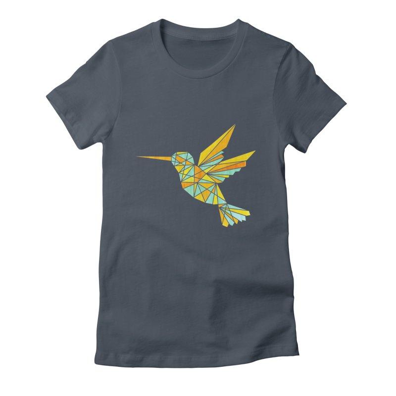 Hummingbird Women's T-Shirt by yeohgh