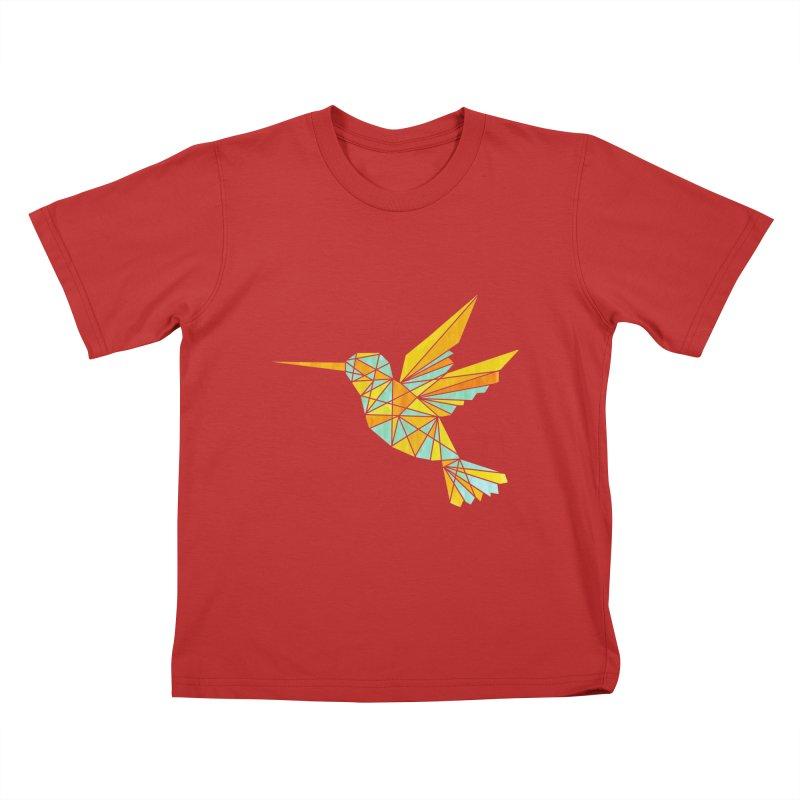 Hummingbird Kids T-Shirt by yeohgh