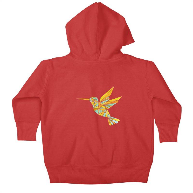 Hummingbird Kids Baby Zip-Up Hoody by yeohgh
