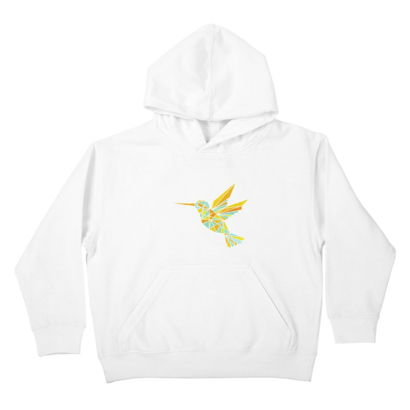Hummingbird Kids Pullover Hoody by yeohgh