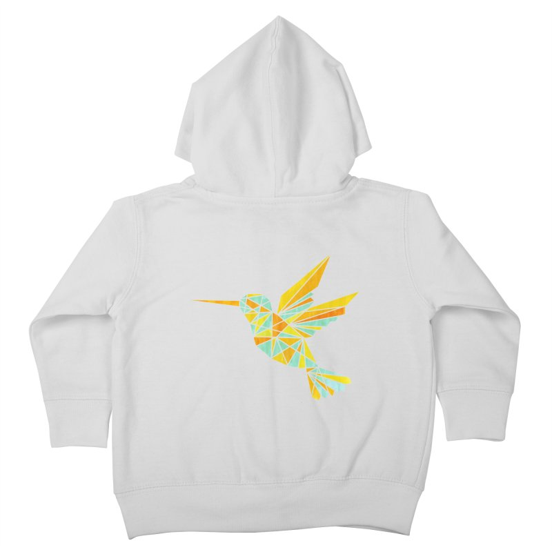 Hummingbird Kids Toddler Zip-Up Hoody by yeohgh