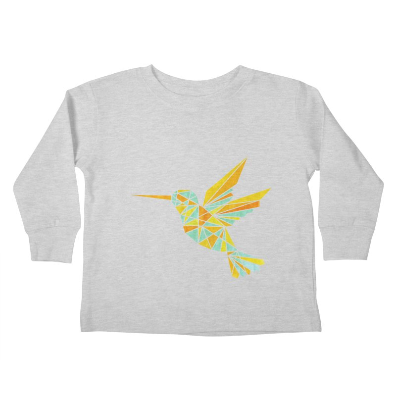 Hummingbird Kids Toddler Longsleeve T-Shirt by yeohgh