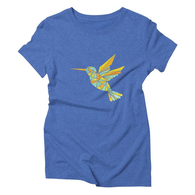 Hummingbird Women's Triblend T-Shirt by yeohgh