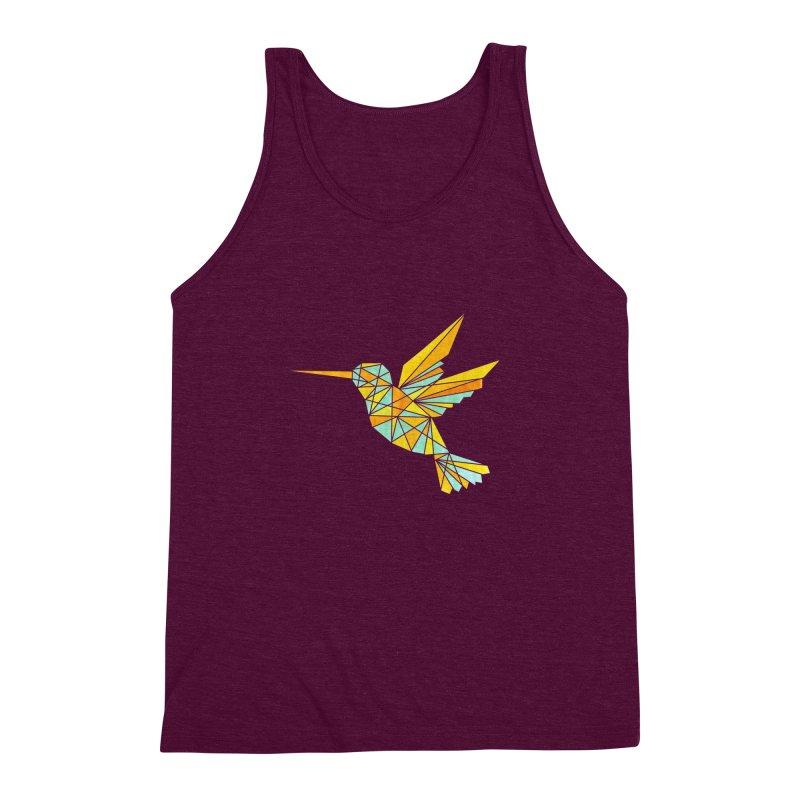 Hummingbird Men's Triblend Tank by yeohgh