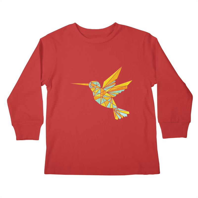 Hummingbird Kids Longsleeve T-Shirt by yeohgh