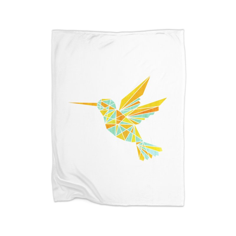 Hummingbird Home Blanket by yeohgh