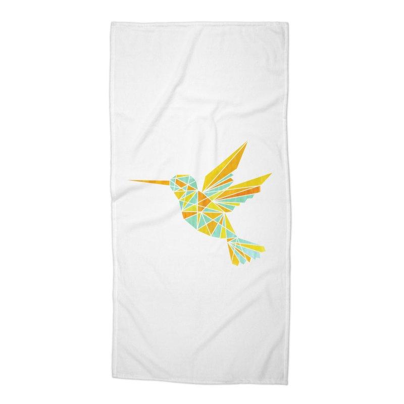 Hummingbird Accessories Beach Towel by yeohgh