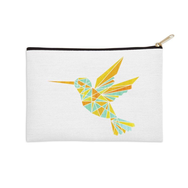 Hummingbird Accessories Zip Pouch by yeohgh