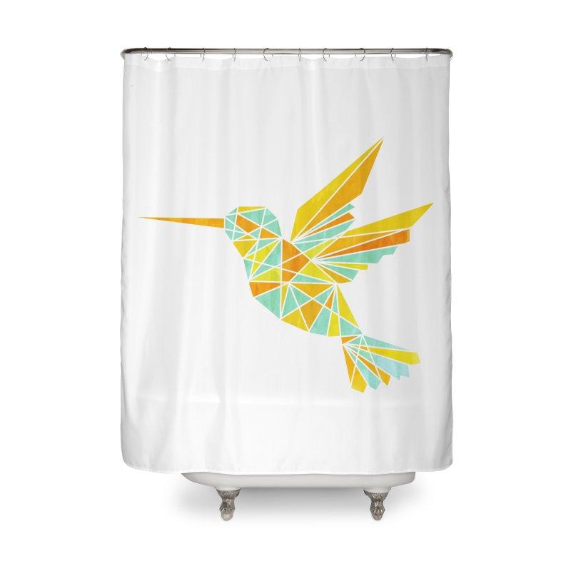 Hummingbird Home Shower Curtain by yeohgh