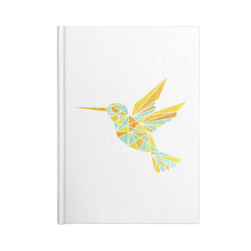 Hummingbird Accessories Lined Journal Notebook by yeohgh