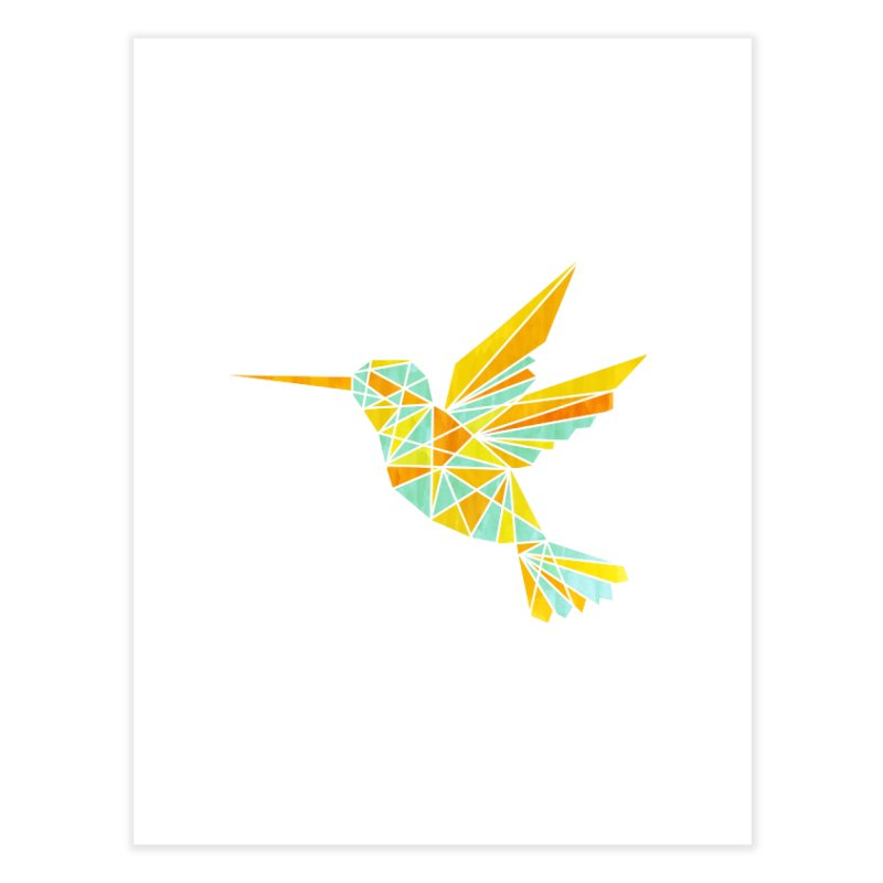 Hummingbird Home Fine Art Print by yeohgh