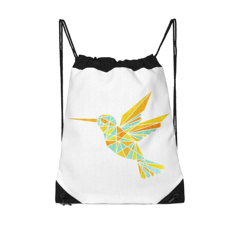 Hummingbird Accessories Drawstring Bag Bag by yeohgh