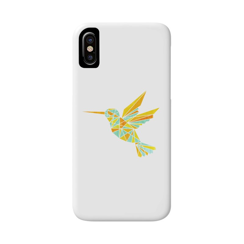 Hummingbird Accessories Phone Case by yeohgh