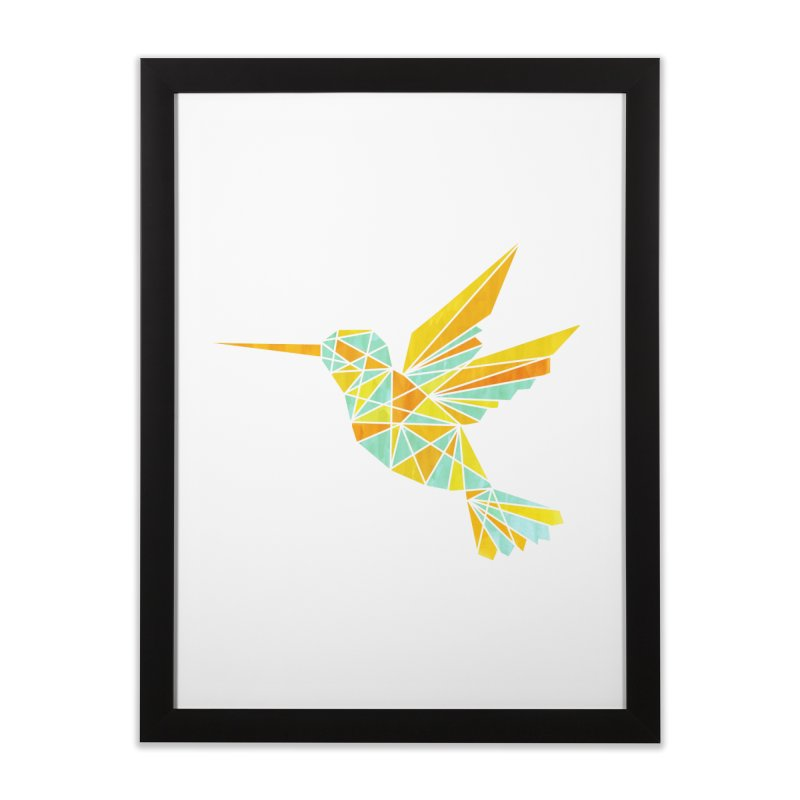 Hummingbird Home Framed Fine Art Print by yeohgh