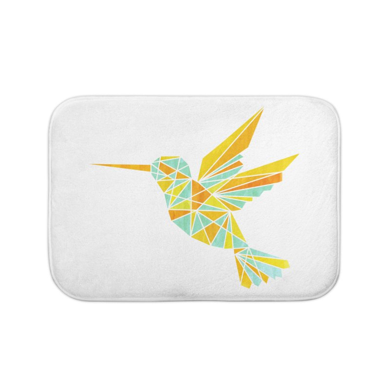 Hummingbird Home Bath Mat by yeohgh
