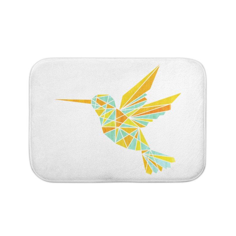 Hummingbird Home Bath Mat by yeohgh