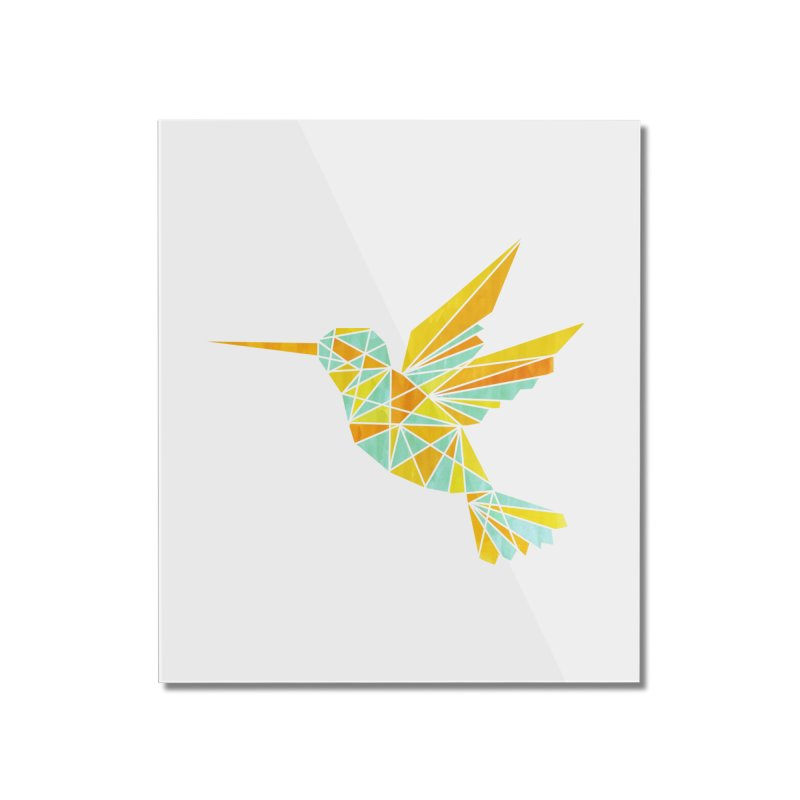 Hummingbird Home Mounted Acrylic Print by yeohgh