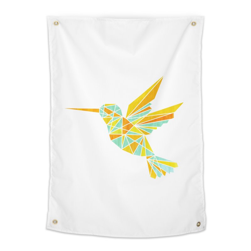 Hummingbird Home Tapestry by yeohgh