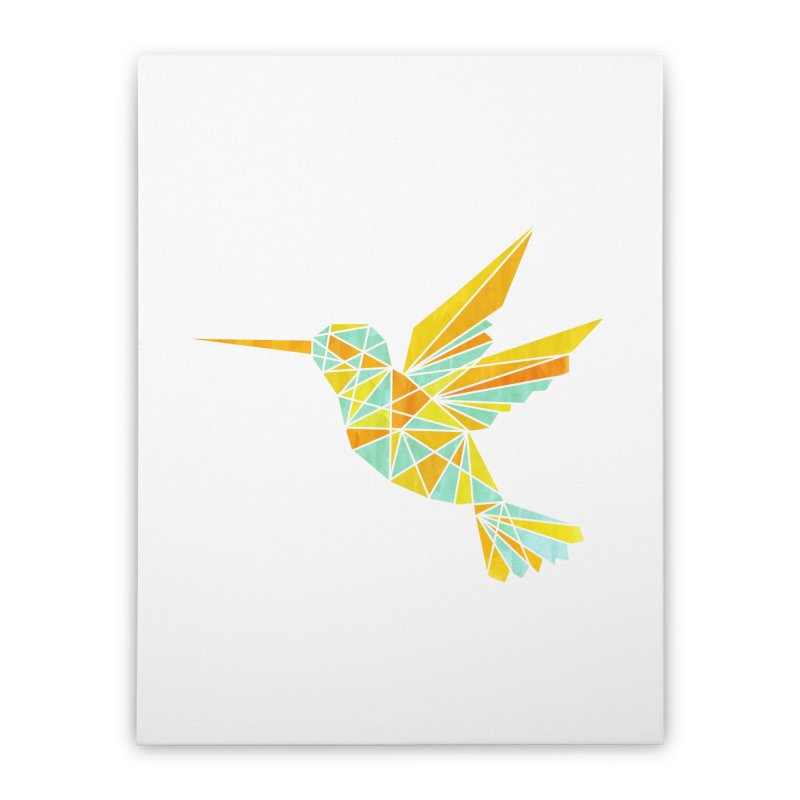 Hummingbird Home Stretched Canvas by yeohgh