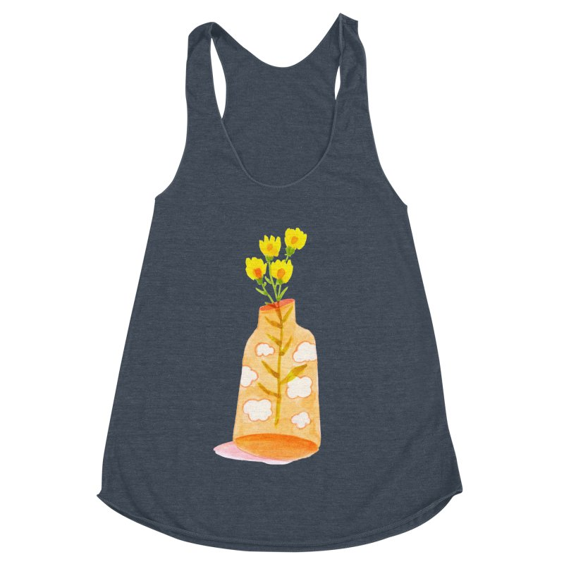 Dreams Women's Racerback Triblend Tank by yeohgh