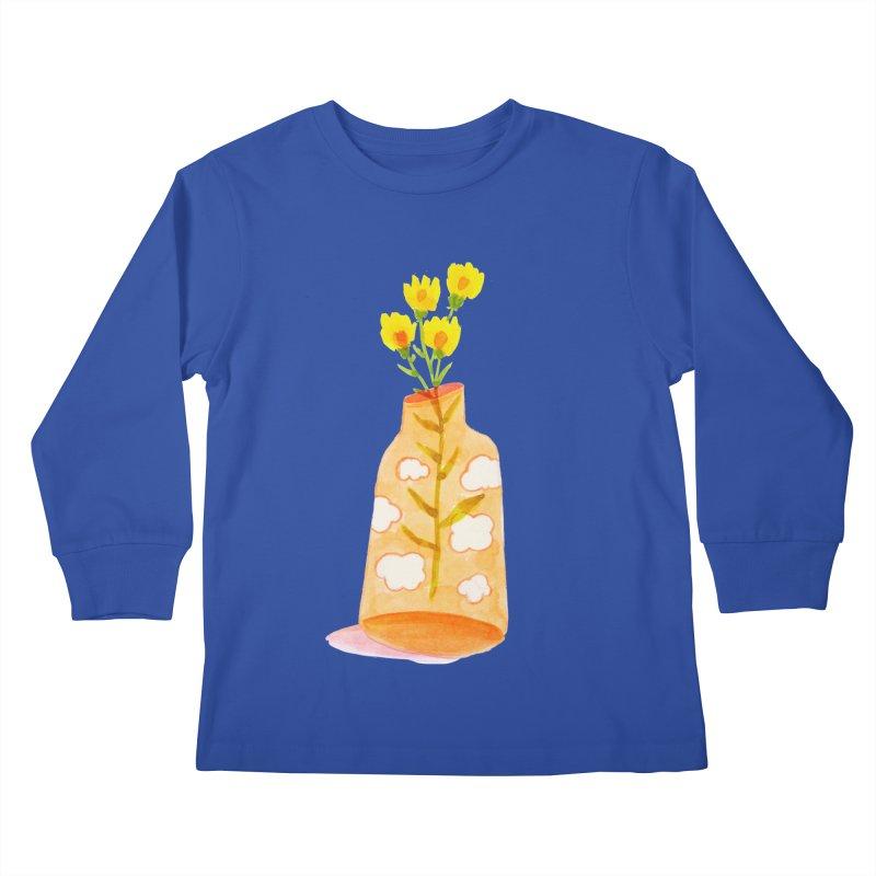 Dreams Kids Longsleeve T-Shirt by yeohgh