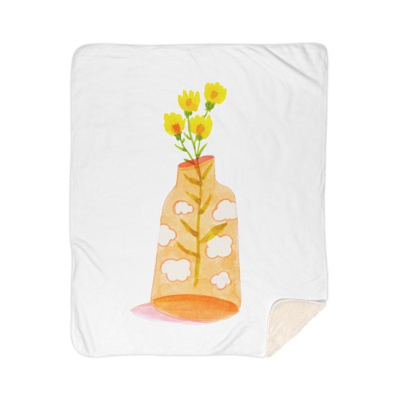 Dreams Home Sherpa Blanket Blanket by yeohgh
