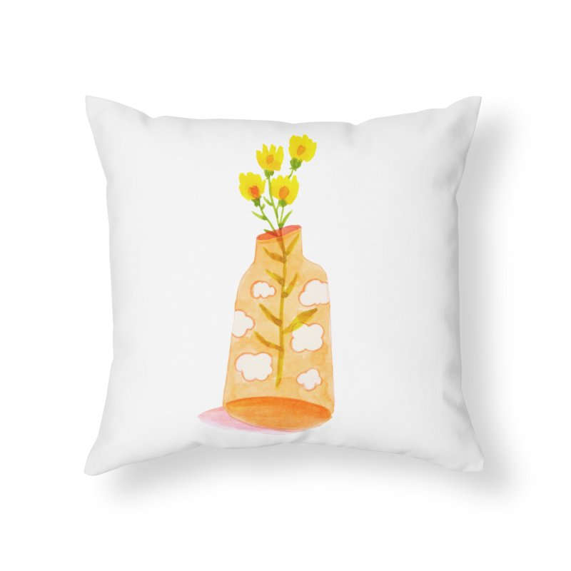 Dreams Home Throw Pillow by yeohgh