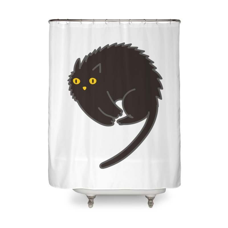 Nine Home Shower Curtain by yeohgh
