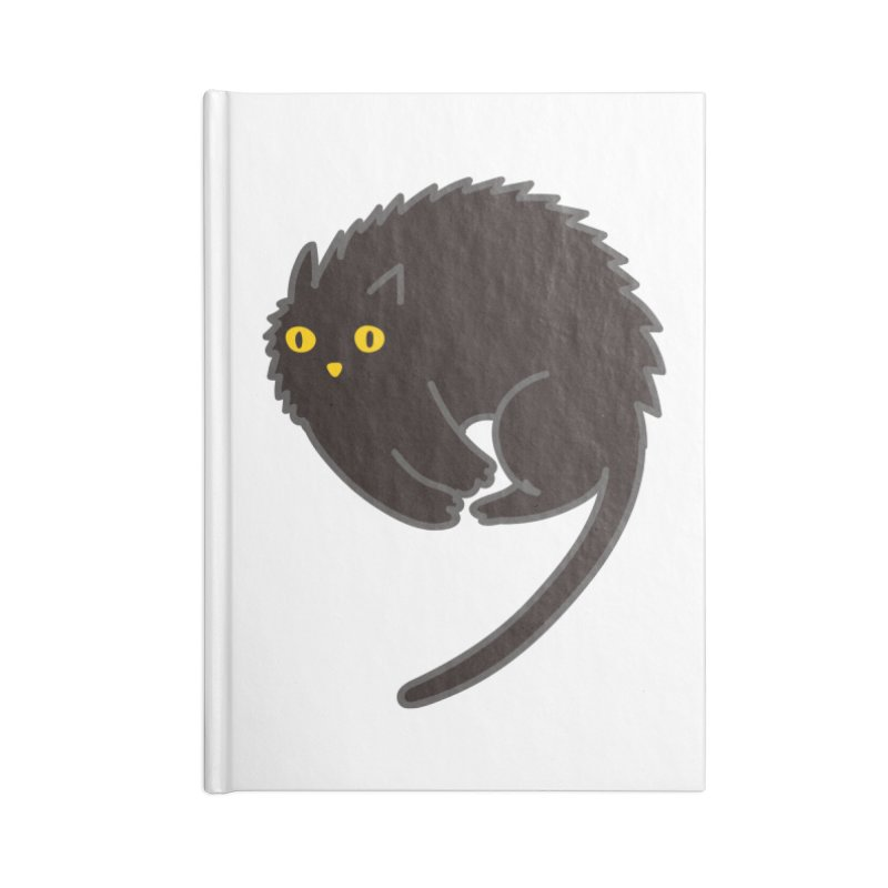Nine Accessories Blank Journal Notebook by yeohgh